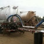 Crude Oil Transfer Truck